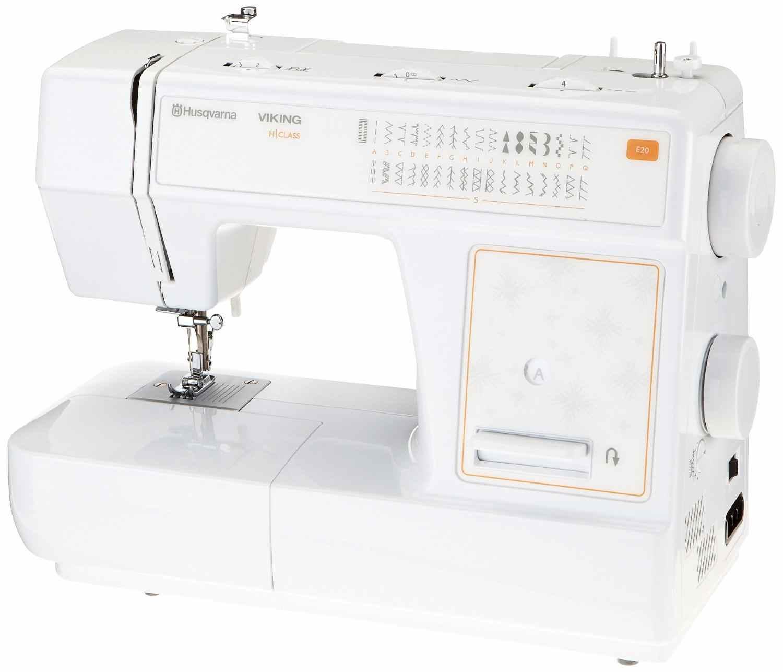 la Husqvarna H 20 Class E 20 para coser en casa es perfecta