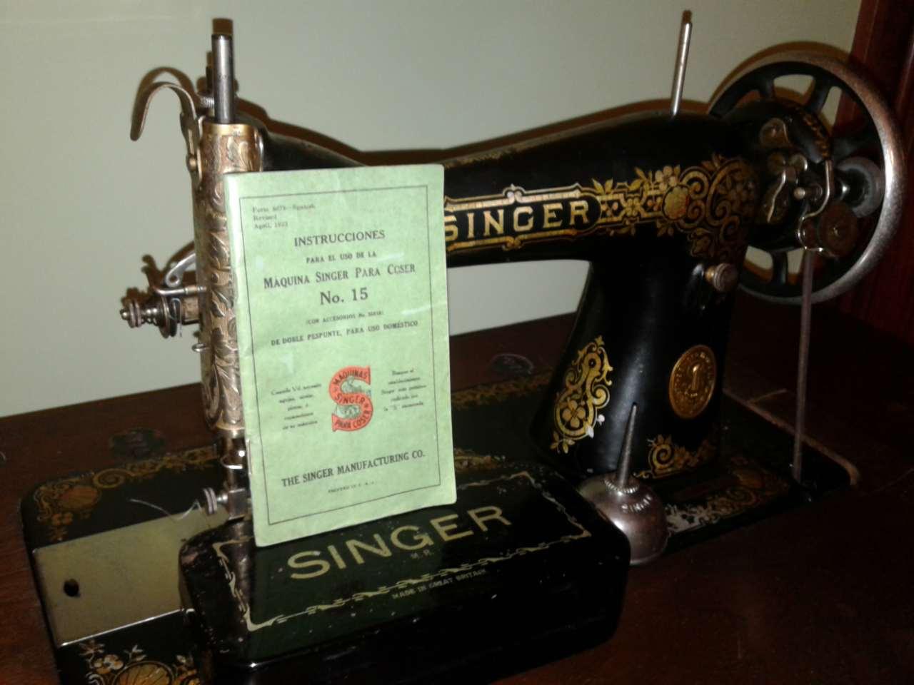 Máquina de Coser Singer Antigua - Coser en Casa